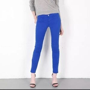J. Brand Bright Royal Skinny Jeans 28